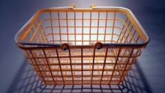 スーパーマーケット カゴ 回収
